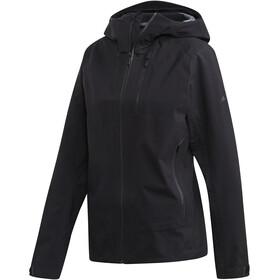 adidas TERREX Parley 3-kerroksinen Takki Naiset, black
